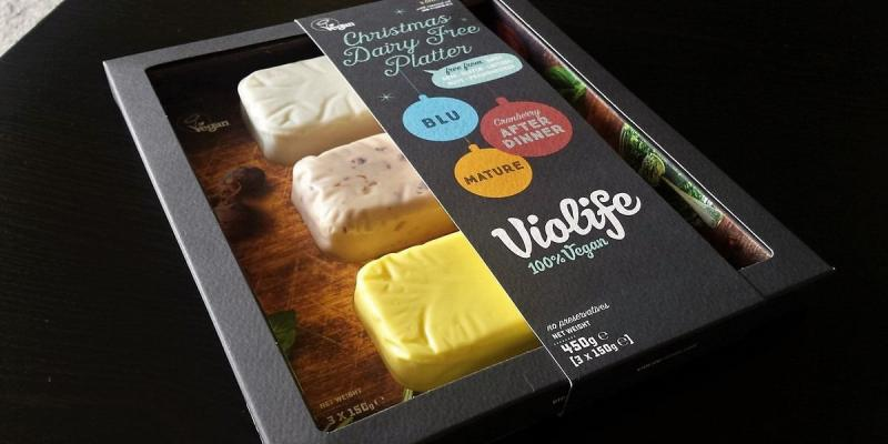 Violife vegan cheese selection